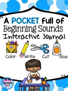 Beginning Sounds and Handwriting Practice Interactive Journal