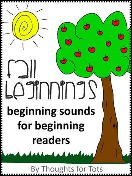 Beginning Sounds, Fall, Prek and Kindergarten