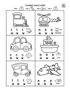 Beginning Sounds- vehicles