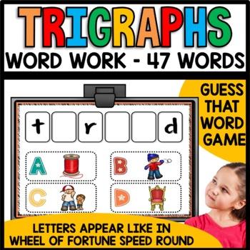 Beginning Triagraphs (scr, shr, spl, spr, squ, str, thr)