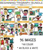 Beginning Trigraphs Clip Art Big Bundle
