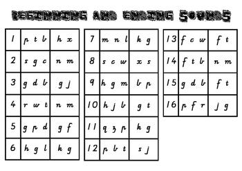 Beginning and Ending Sound Stamping