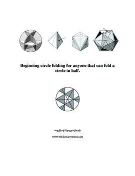 Beginning circle folding for anyone that can fold a circle