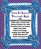 Beginning of  School Year First Day Activities - Back to S