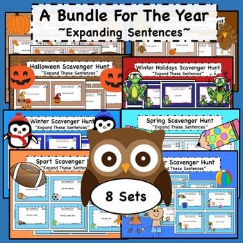 Expanding Sentences Bundle