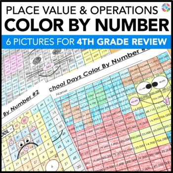 4th Grade Place Value Review | Starting 5th Grade Back to