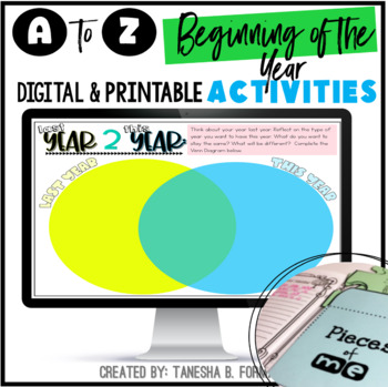 Beginning of the Year A to Z: Activities, Minibooks, and More!