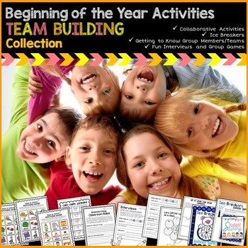 Back to School Activities - Team Building Collection