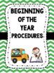 Beginning of the Year Binder Organization