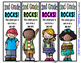 Beginning of the Year Bookmarks - 4 Designs each Preschool