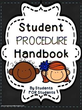 Beginning of the Year Classroom Procedure Handbook For Stu