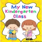 Beginning of the Year - Kindergarten