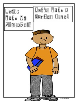 Beginning of the Year: Student-made Alphabet and Number Line