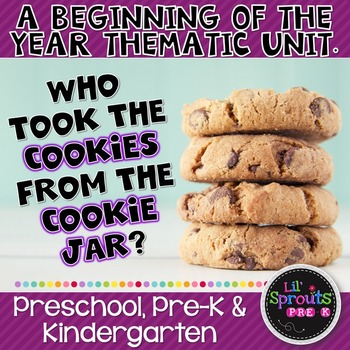 First Week of School - Who Took the Cookies from the Cooki