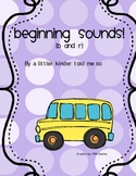 Beginning sounds Bus center