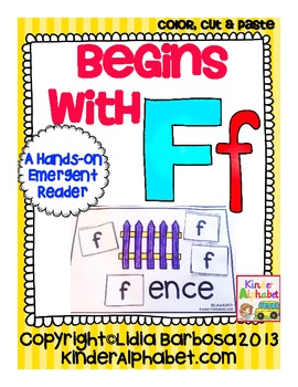 Begins with Ff {a Hands-On Emergent Reader}