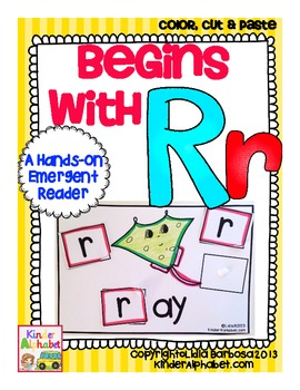 Begins with Rr {a Hands-On Emergent Reader}