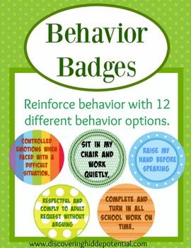 Behavior Badges