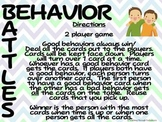 Behavior Battles