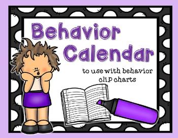 Behavior Calendar: 2016-2017