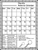 Behavior Calendar 2016-2017! Dr. Seuss Inspired - 3rd Style!