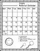 Behavior Calendar 2016-2017! Dr. Seuss Inspired {No Color Chart}