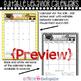 Behavior Calendar Editable Sample