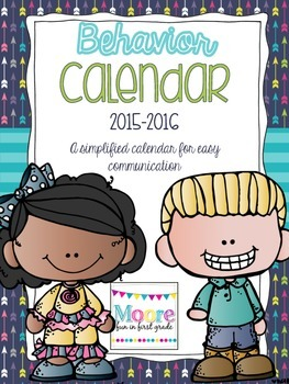 Behavior Calendars 2015-2016