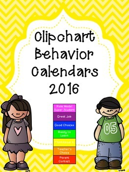 Behavior Calendars 2016