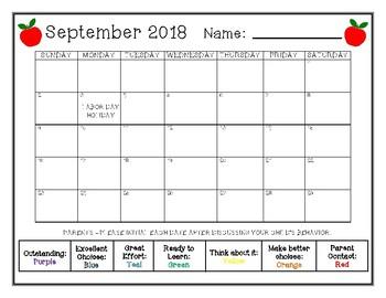 Behavior Calendars II