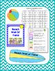 Beach Behavior Chart