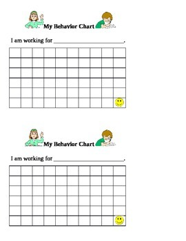 Classroom Behavior/Incentive Chart