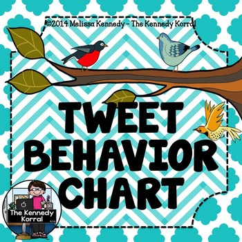 Behavior Chart: Tweet Behavior {Birds}