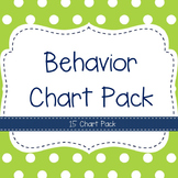 Behavior Chart Pack- 15 Charts!