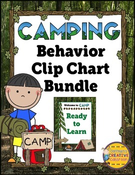 Behavior Chart- Camping Theme