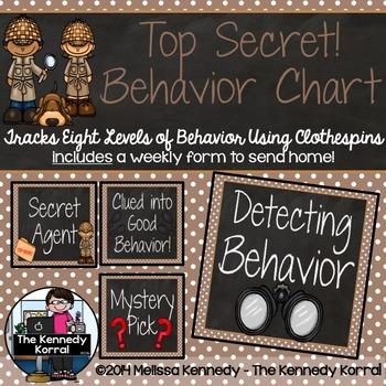Behavior Chart: Detecting Good Behavior {Detectives}