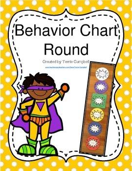 Behavior Chart (Round)