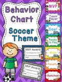 Soccer Behavior Chart Sports Theme