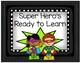 Behavior Clip Chart - Super Hero Theme