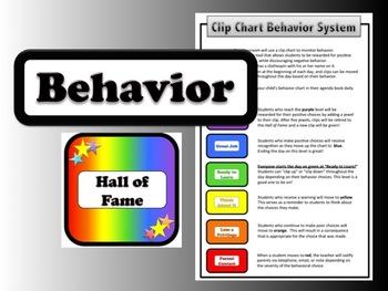 Behavior Chart System