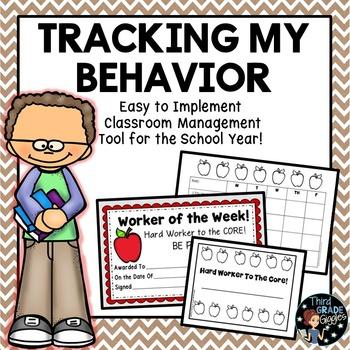 Behavior Charts Classroom Management