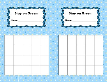 Behavior Charts for the Whole Year!