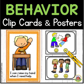 Behavior Clip Cards and Posters