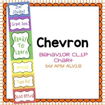 Behavior Clip Chart - Behavior Management - CHEVRON 2