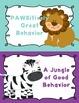 Behavior Clip Chart - Behavior Management - JUNGLE ANIMALS 8