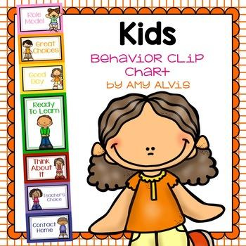 Behavior Clip Chart - Behavior Management - Kids