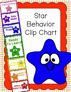 Behavior Clip Chart - Behavior Management - STARS
