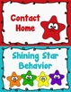 Behavior Clip Chart - Behavior Management - STARS 3