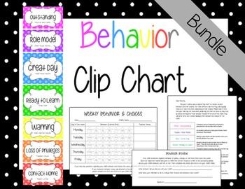 Behavior Clip Chart {Bundle}