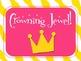 Behavior Clip Chart - Fairytale prince/princess castle theme